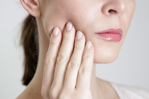 Patient clenching jaw from South Austin Dental